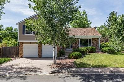 Centennial Single Family Home Active: 5494 East Hinsdale Circle