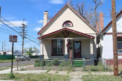 Denver Single Family Home Under Contract: 4301 Columbine Street