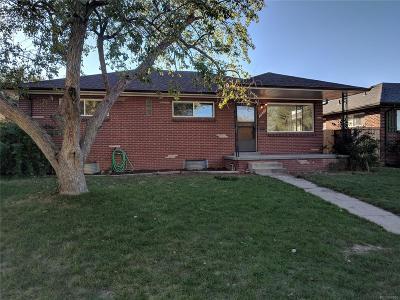Park Hill, Parkhill Single Family Home Active: 3675 Grape Street
