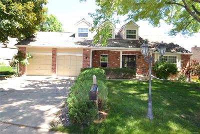 Centennial Single Family Home Under Contract: 6310 South Jasmine Way