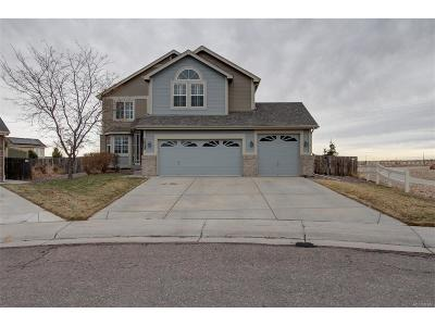 Parker Single Family Home Under Contract: 15998 Butterwort Circle