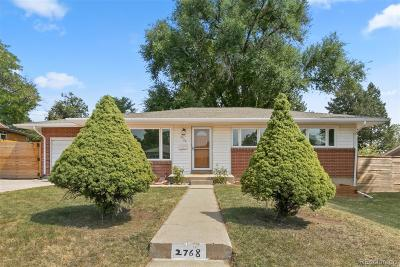 Denver Single Family Home Active: 2768 South Patton Court