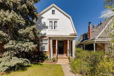 Denver Single Family Home Active: 557 South Pearl Street