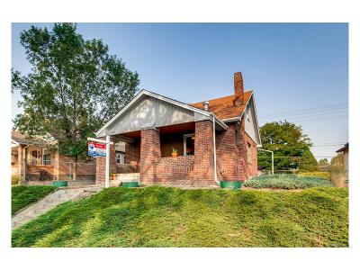 Denver Single Family Home Under Contract: 4146 Irving Street