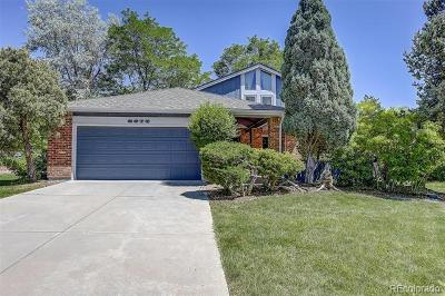 Centennial CO Single Family Home Active: $557,000