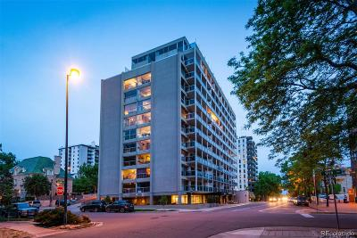 Denver Condo/Townhouse Active: 888 North Logan Street #6H