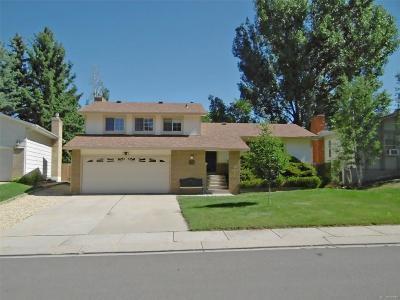 Colorado Springs Single Family Home Active: 4766 Bunchberry Lane