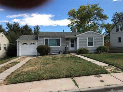 Englewood Single Family Home Under Contract: 4670 South Bannock Street