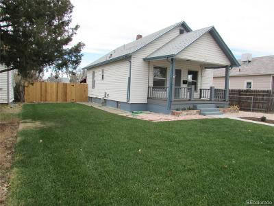 Fort Lupton Single Family Home Under Contract: 127 3rd Street