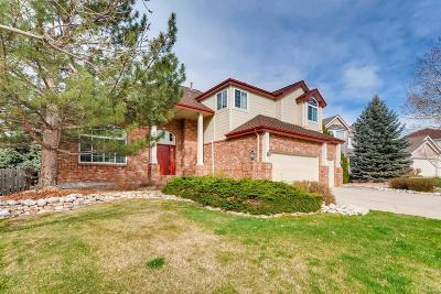 Highlands Ranch Single Family Home Under Contract: 10055 Cottoncreek Drive