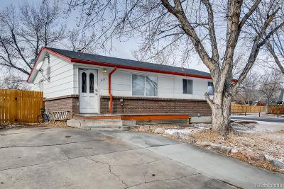 Arvada Single Family Home Active: 6771 Lamar Street
