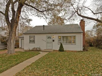 Englewood Single Family Home Under Contract: 4640 South Cherokee Street