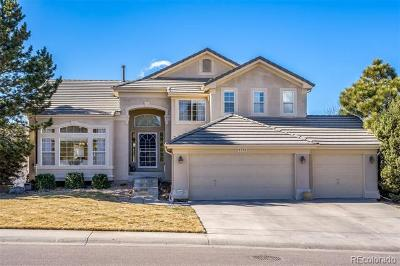 Lone Tree Single Family Home Under Contract: 9775 Tall Grass Circle