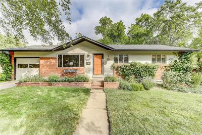 Golden Single Family Home Under Contract: 13577 West 22nd Place