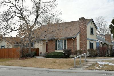Arvada Single Family Home Under Contract: 8708 Garrison Court