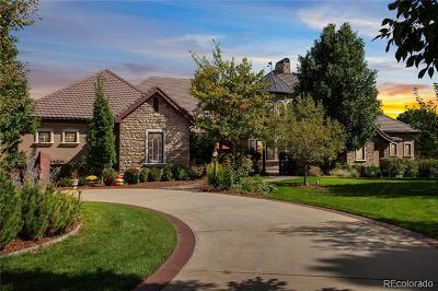 Littleton Single Family Home Active: 6990 South Polo Ridge Drive