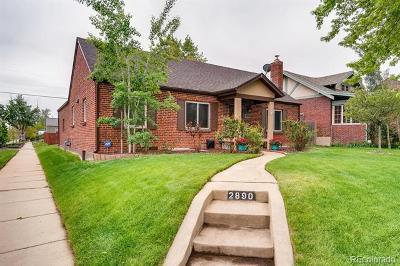 Denver Single Family Home Active: 2890 Birch Street