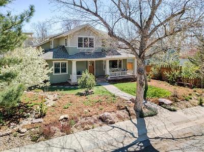 Boulder Single Family Home Active: 2924 11th Street