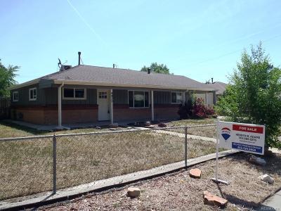 Thornton Single Family Home Active: 9430 Cedar Court