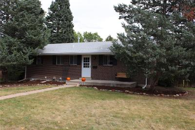 Centennial Single Family Home Under Contract: 7732 South Vine Street