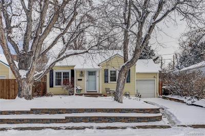 Single Family Home Under Contract: 2572 South Washington Street