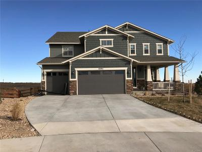 Arvada Single Family Home Under Contract: 8894 Flattop Way