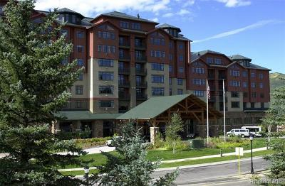 Steamboat Springs Condo/Townhouse Active: 2300 Mt Werner Circle 557 Qiv