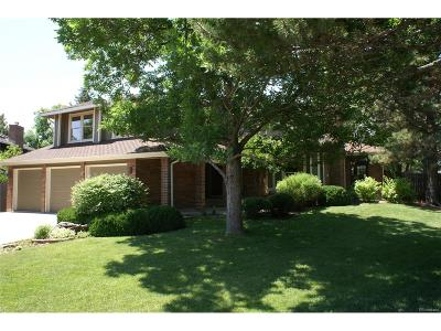 Castle Pines Single Family Home Sold: 7359 Rochester Court