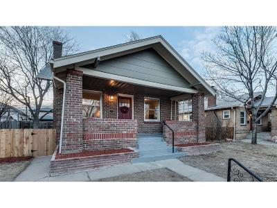 Denver CO Single Family Home Sold: $625,000