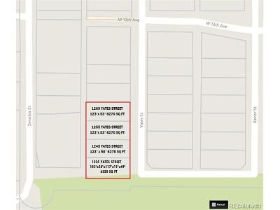 Denver Single Family Home Active: 1245 Yates Street