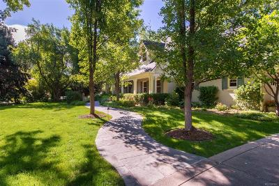 Cherry Hills Village Single Family Home Under Contract: 4590 South Downing Circle