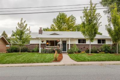 Longmont Single Family Home Under Contract: 1032 Spencer Street