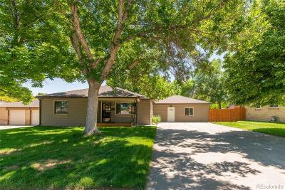 Wheat Ridge Single Family Home Under Contract: 4460 Reed Street