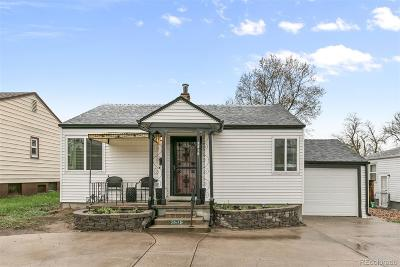 Wheat Ridge Single Family Home Under Contract: 3515 Sheridan Boulevard