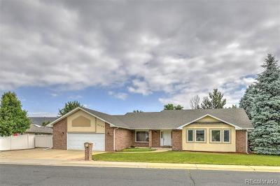 Westminster Single Family Home Active: 3743 West 103rd Drive