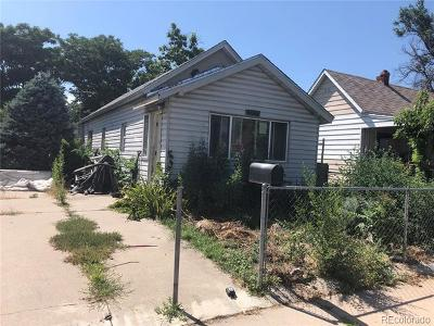 Denver Single Family Home Active: 4625 Sherman Street