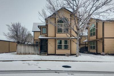 Aurora Condo/Townhouse Active: 1827 South Pitkin Circle