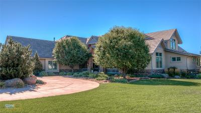 Boulder Single Family Home Active: 980 White Hawk Ranch Drive
