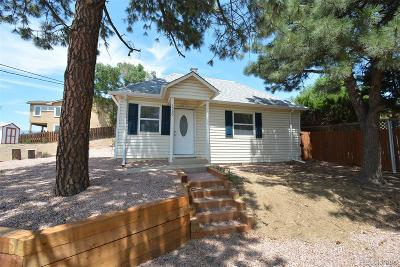 Old Colorado City Single Family Home Under Contract: 1530 Manitou Boulevard