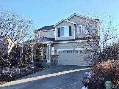 Colorado Springs Single Family Home Active: 3861 Pioneer Creek Drive
