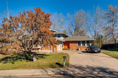 Centennial Single Family Home Under Contract: 7746 South Elizabeth Court