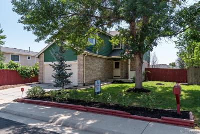 Broomfield Single Family Home Under Contract: 13222 Bryant Circle