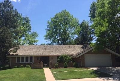 Centennial Single Family Home Active: 3658 East Easter Circle