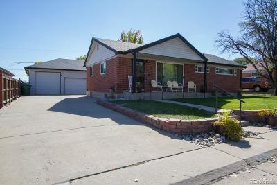 Northglenn Single Family Home Active: 1166 East 111th Place