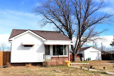 Deer Trail Single Family Home Active: 340 4th Avenue