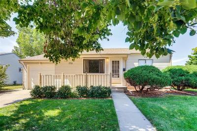 Aurora Single Family Home Active: 775 Kenton Street