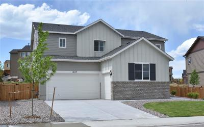 Castle Rock Single Family Home Under Contract: 4057 Spanish Oaks Court