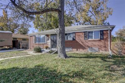 Broomfield Single Family Home Under Contract: 325 Garnet Street