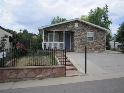 Federal Heights Single Family Home Under Contract: 9065 Mandel Street