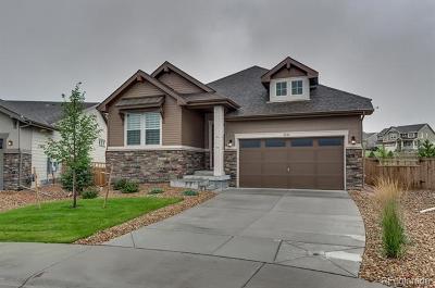 Castle Rock Single Family Home Active: 2524 Lassen Lane